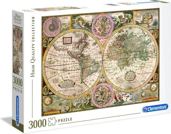 old map legpuzzel
