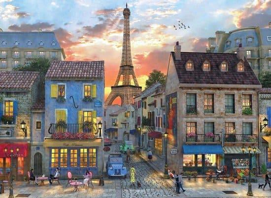 Dominic Davidson - De straten van Parijs