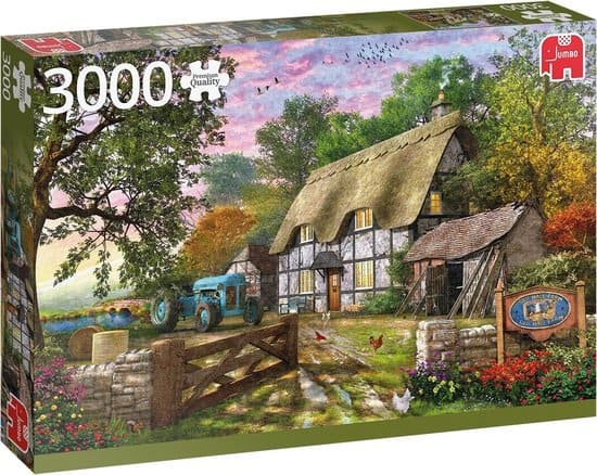 Jumbo Premium Collection Puzzel Het Huisje van de Boer - Legpuzzel - 3000 stukjes