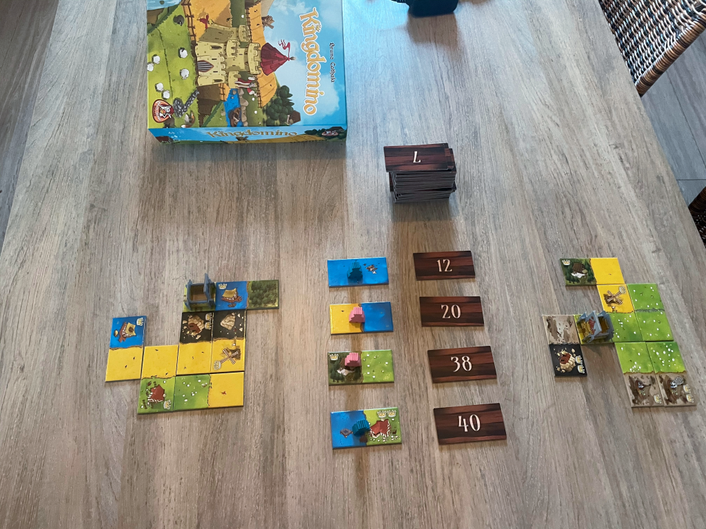 Kingdomino beginopstelling 2