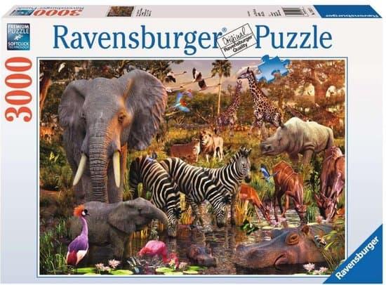 Ravensburger puzzel Afrikaanse dierenwereld