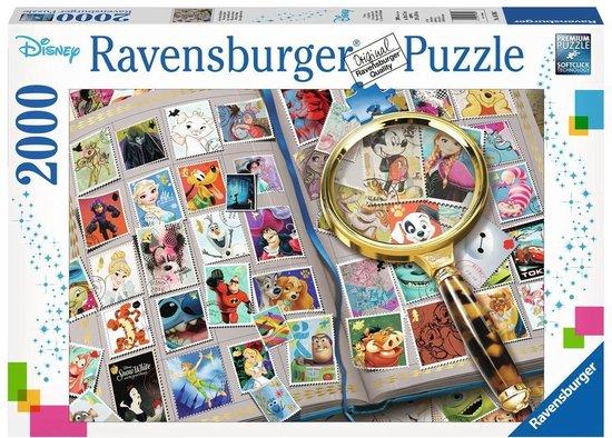 Ravensburger puzzel Mijn mooiste postzegel